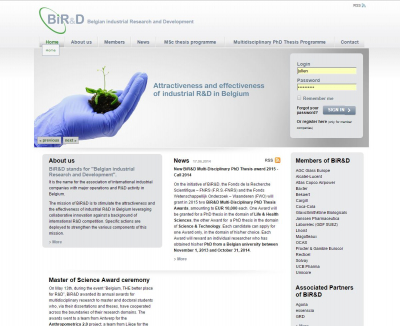 Belgian industrial Research and Development